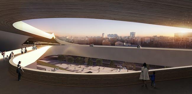 Render © Zaha Hadid Architects.