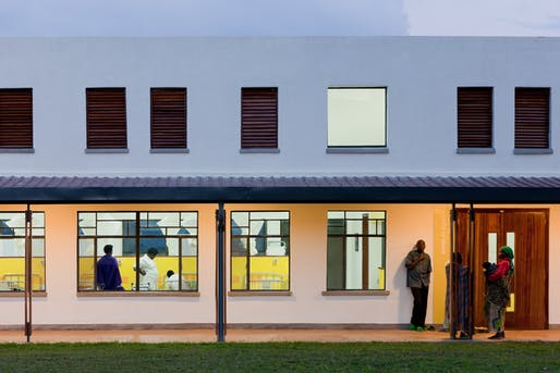 Butaro Hospital in Ruhengeri, Rwanda by MASS Design Group. Photo: Iwan Baan.