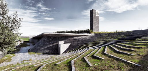 Sancaklar Mosque by Emre Arolat Architecture. Photo: Cemal Emden.