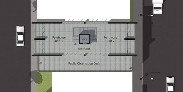Option A - Fifth Floor Plan