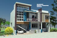 3d Home for Mr. Dhengale saheb Gruha Finance Nandura