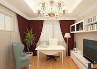 Proiect design interior casa clasica de lux - Amenajari interioare la cheie Bucuresti