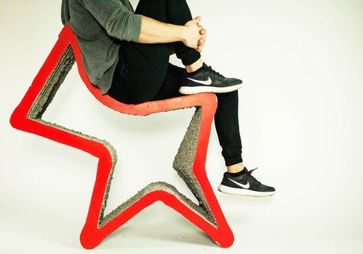 """RRRolling Stones"" modular seating designed by HANNAH. Image: Archleague."