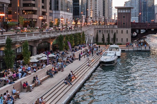 ​Silver Medal: Chicago Riverwalk Phases II & III - Chicago, IL. Photo: Christian Phillips.
