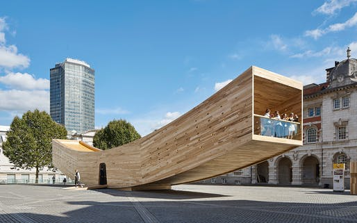 Display - Completed Buildings Winner: Alison Brooks Architects, The Smile, London, United Kingdom​. Image courtesy World Architecture Festival 2017.