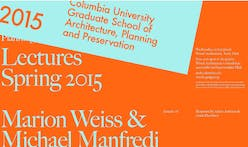 Get Lectured: Columbia GSAPP, Spring '15