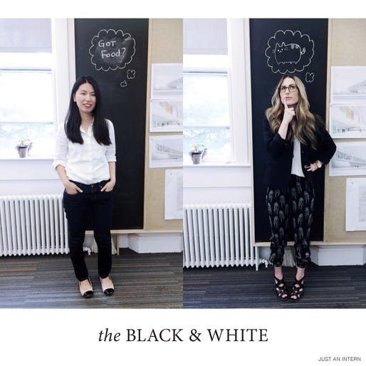 the Black & White