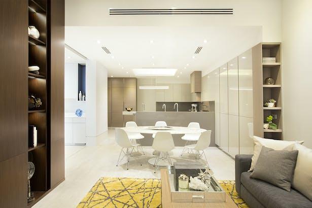 Kitchen - Residential Interior Design Project in Aventura, Florida