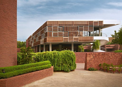 Winner Institutional: Annex Building of Korean Embassy in India by AA Studio Consulting Pvt Ltd (India)
