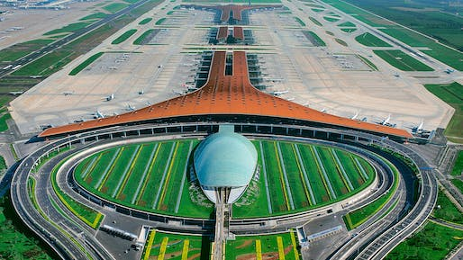 2009 - Beijing Airport, China. Photo credit: Foster + Partners