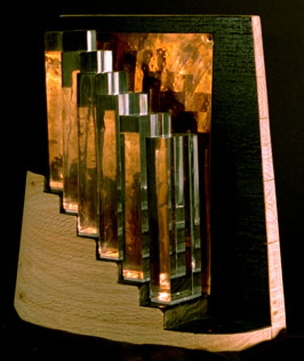 3D Model interpretation of Duchamps 'Nude Descending a Staircase'