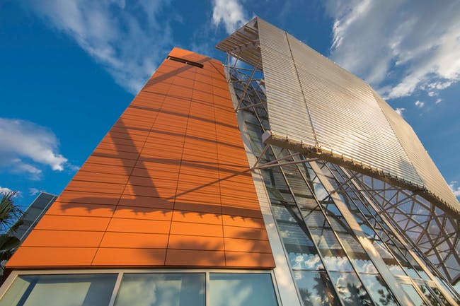 University of Florida, Research & Academics-Center, HOK Architects, Lake Nona, FL, LEED PLATINUM