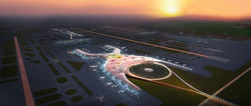 2018 - Future project - New International Airport, Mexico City, Mexico. Image credit: Foster + Partners