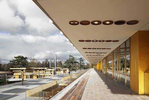 Photo © Dominique Perrault Architecte/Adagp.