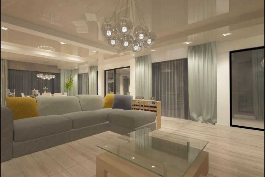 Design Interior Living Casa Moderna   Amenajari Interioare Case La Cheie
