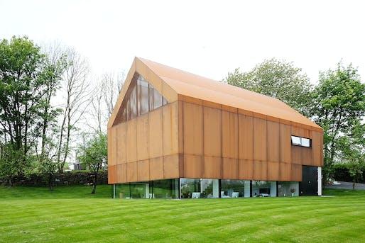 Fallahogey Studio, Kilrea, Northern Ireland by McGarry-Moon Architects. Photo: Adam Currie.