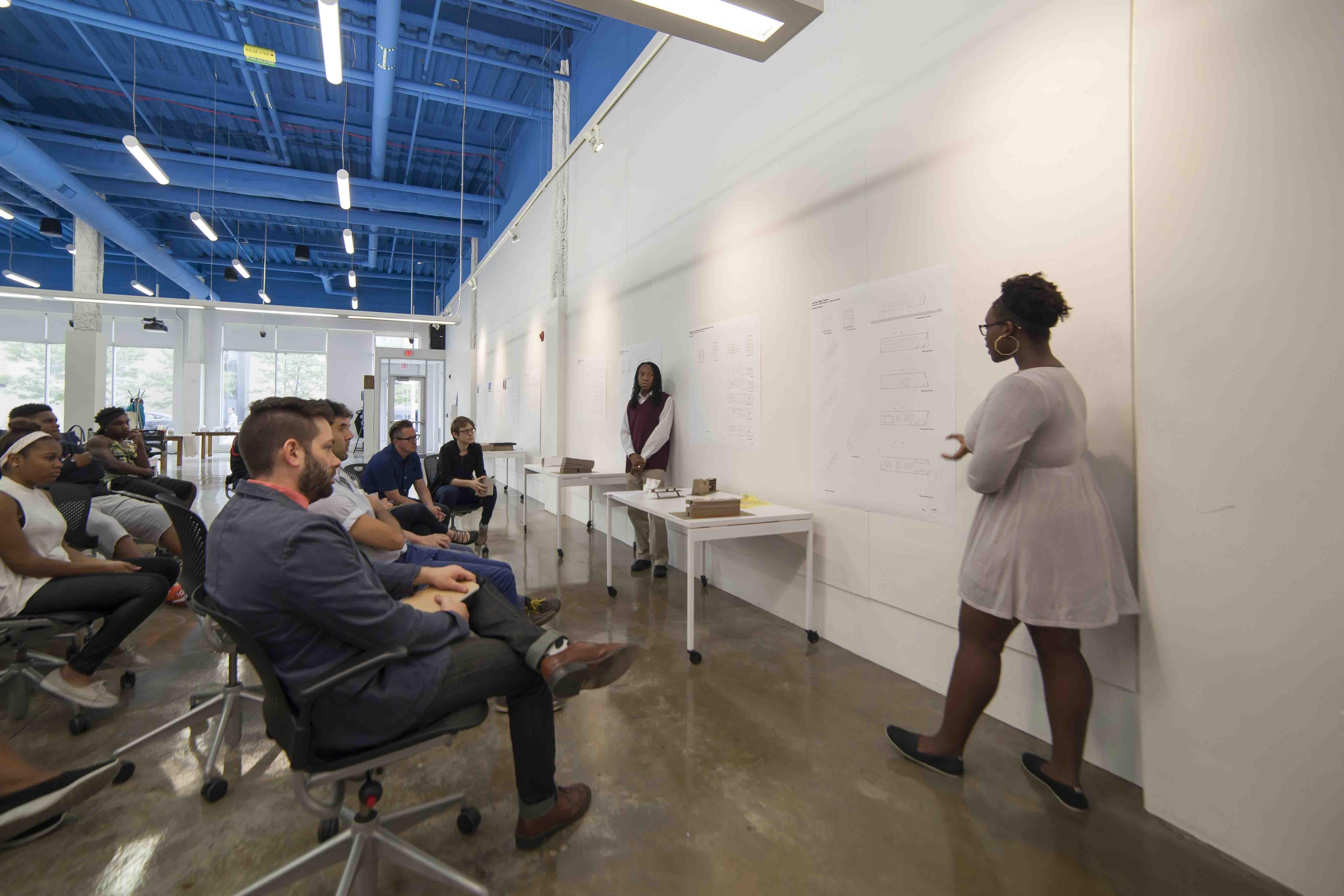 Location: Detroit, MI, US Firm Role: Architecture And Interior Design