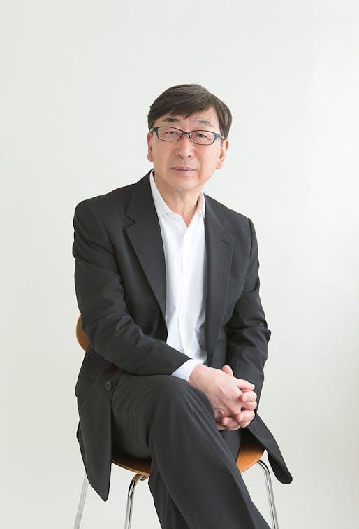Toyo Ito: recipient of the 2014 Thomas Jefferson Medal in Architecture. Photo: Yoshiaki Tsutsui