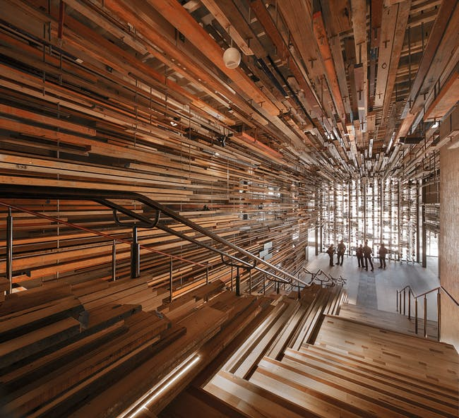 INSIDE World Festival of Interiors - Hotels: Hotel Hotel Ground Floor, NewActon by March Studio. Photo: John Gollings.