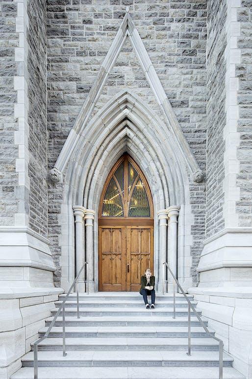 Original door steeple. Photo credit: Adrien Williams.