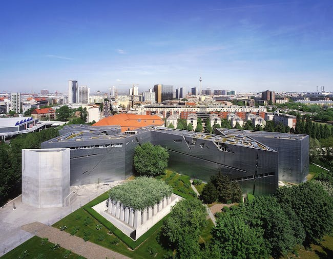 An image of the Jewish Museum, Berlin. Credit: BitterBredt via Studio Libeskind