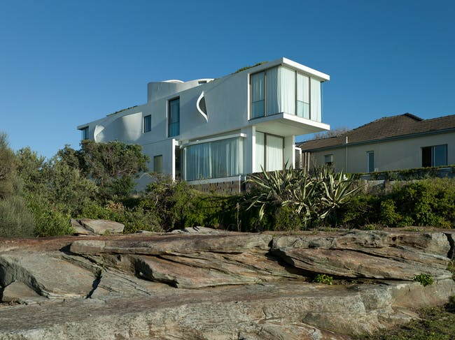 Seacliff House by Chris Elliott Architects. Photo © CEA