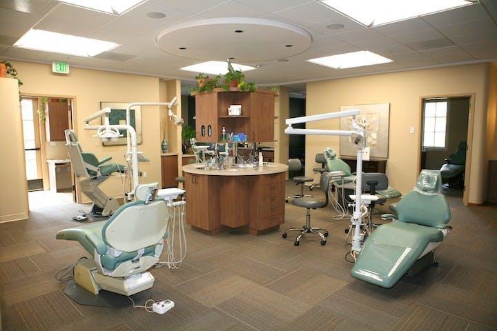 Dental concepts design for health archinect for Dental clinic interior design concept