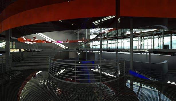 Interior view upon main entry