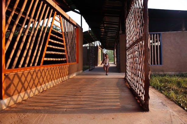 the connecting corridor