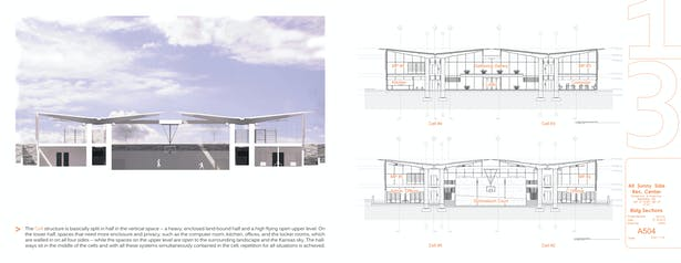 Conceptual Section / Building Sections