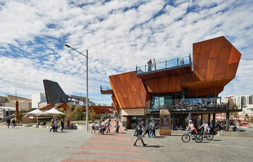Yagan Square by Lyons in association with Iredale Pedersen Hook and landscape architects ASPECT Studios | WA. Photo: Peter Bennetts.