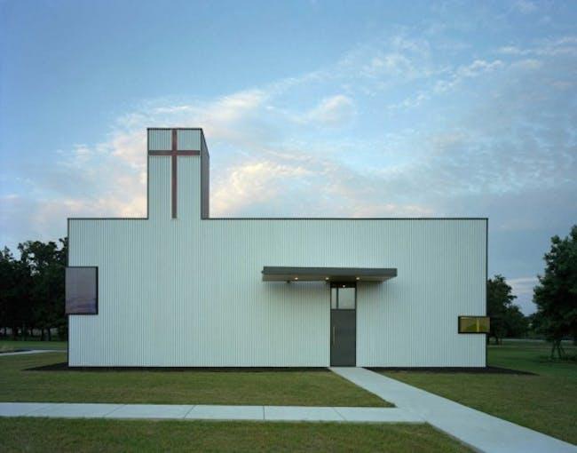 Marlon Blackwell's St Nicholas Church via jw468.