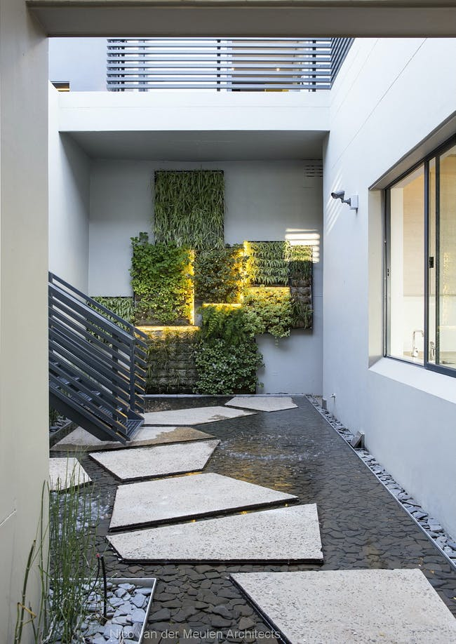 Concrete House in Johannesburg, South Africa by Nico van der Meulen Architects