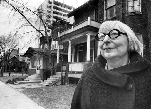 Happy 100th birthday, Jane Jacobs! Photo via boweryboyshistory.com