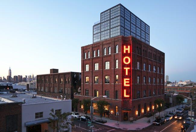 Wythe Hotel by Morris Adjmi Architects. Photo: Jimi Billingsley, courtesy of Morris Adjmi Architects.