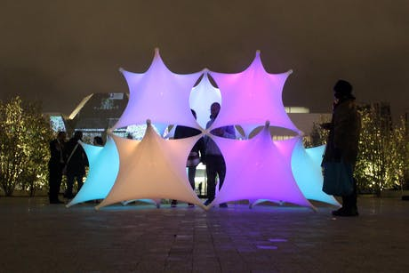 Sparks at Aga Khan Museum for Nuit Blanche Toronto