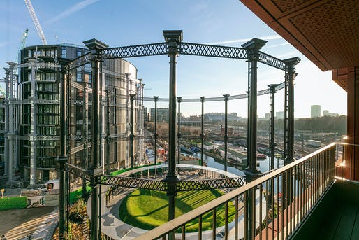 Gasholder Park by Bell Phillips Architects. Photo: John Sturrock.