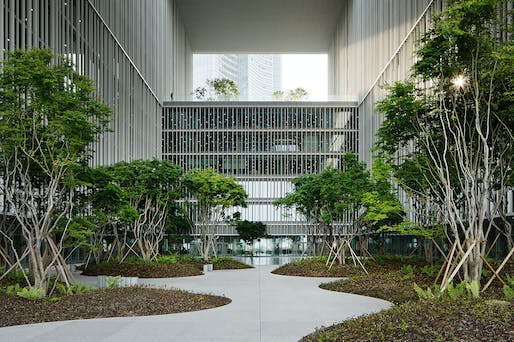 Amorepacific Headquarters in Seoul, South Korea by David Chipperfield Architects Berlin, HAEAHN Architecture and KESSON. Photo: Andreas Gehrke Noshe.