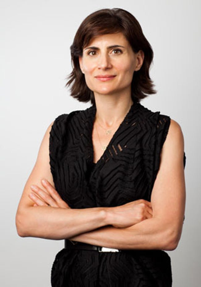 Amale Andraos has been appointed dean of Columbia University's Graduate School of Architecture, Planning and Preservation (GSAPP)