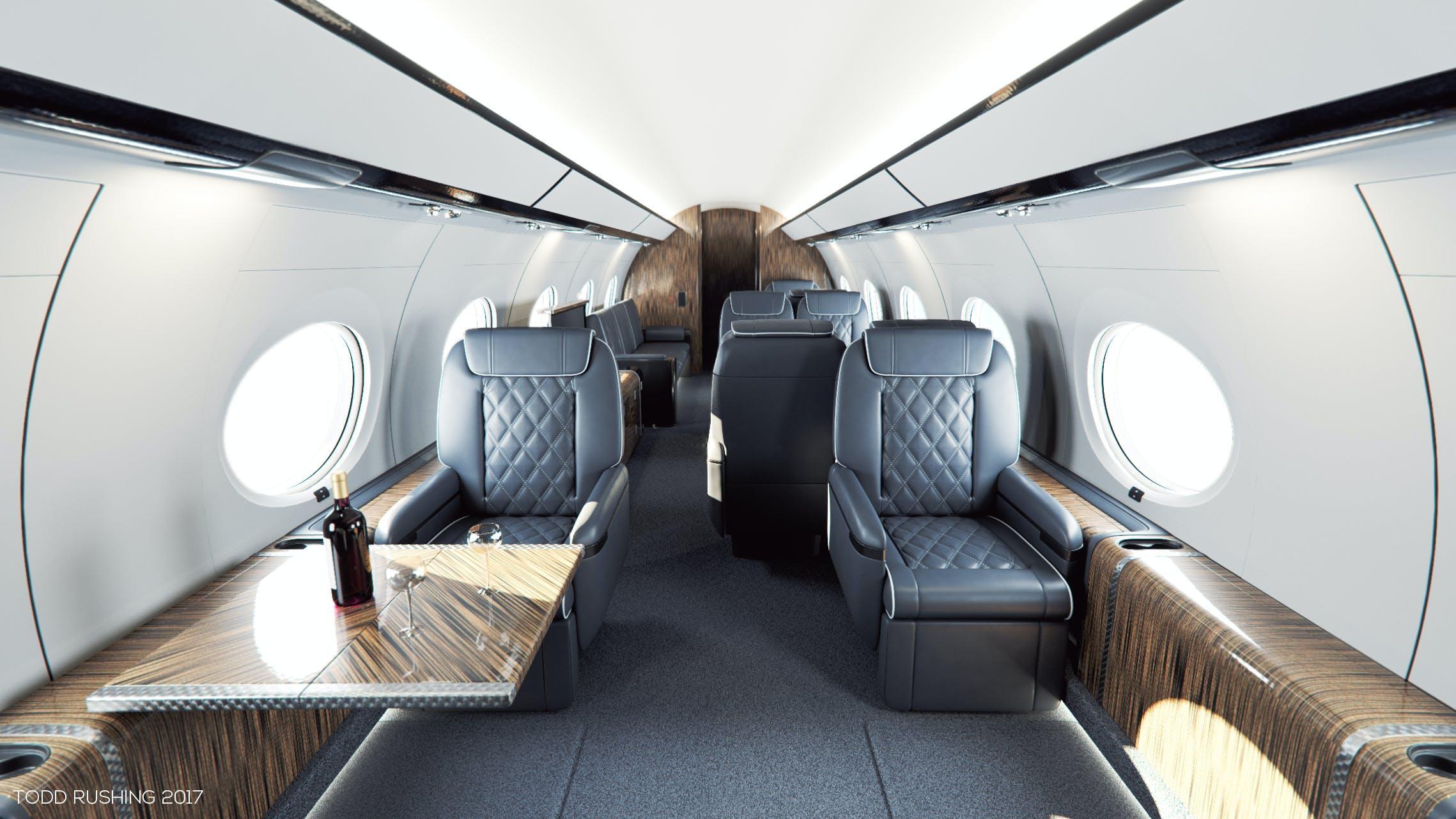 gulfstream g650 interior photos. Black Bedroom Furniture Sets. Home Design Ideas