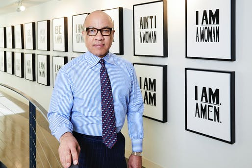 Darren Walker at the Ford Foundation. Image: Simon Luethi/Ford Foundation.