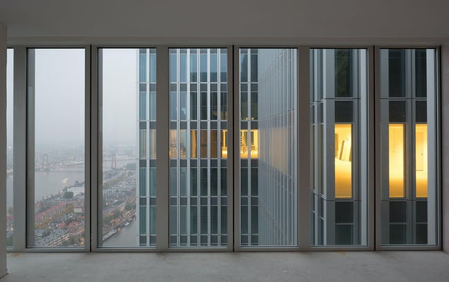 North view. Image courtesy of OMA; photography by Ossip van Duivenbode