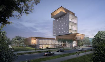 """A stack of neighborhoods"": DS+R's design for Rubenstein Forum revealed"