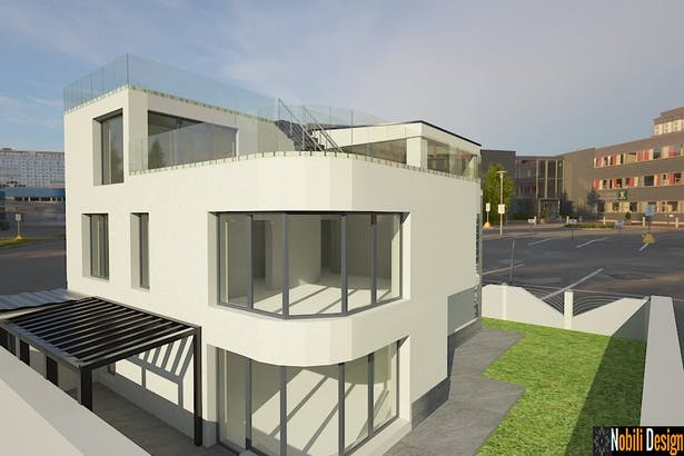 Servicii arhitectura si design - Arhitect case vile moderne