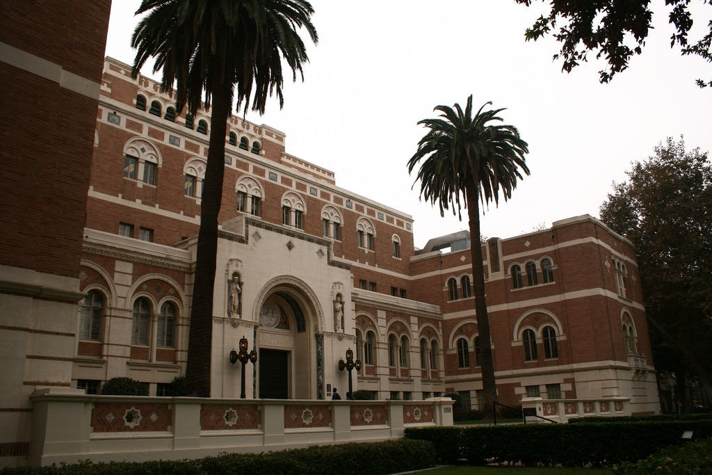 """usc debuts in a """"top 10 architecture schools"""" list, joining"""
