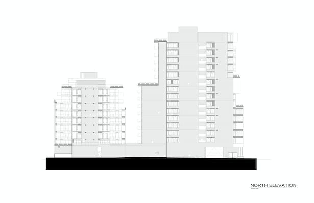 Six50 King North Elevation