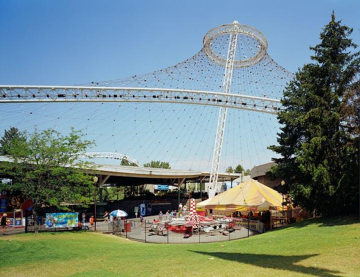 Spokane 1974 World's Fair, 'Celebrating Tomorrow's Fresh New Environment,' United States Pavilion, 2007 © JADE DOSKOW