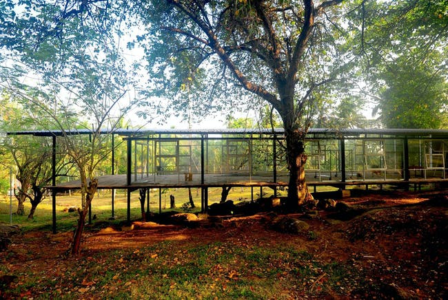 Global Holcim Awards Silver 2015: Post War Collective: Community library and social recuperation   Ambepussa, Sri Lanka By Milinda Pathiraja and Ganga Ratnayake, Robust Architecture Workshop (Sri Lanka)