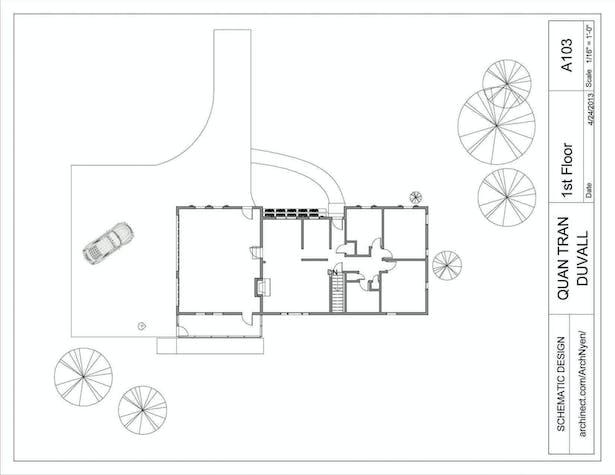 Duvall Renovation  Schematic Phase   Quan Nyen Tran   Archinect
