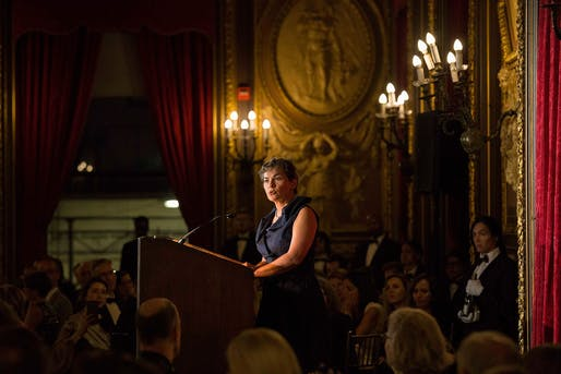 Architectural League President's Medal 2018 laureate: Christiana Figueres. Photo: Leandro Viana.